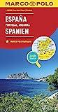 MARCO POLO Länderkarte Spanien, Portugal 1:800 000: Wegenkaart 1:800 000 (MARCO POLO Länderkarten)