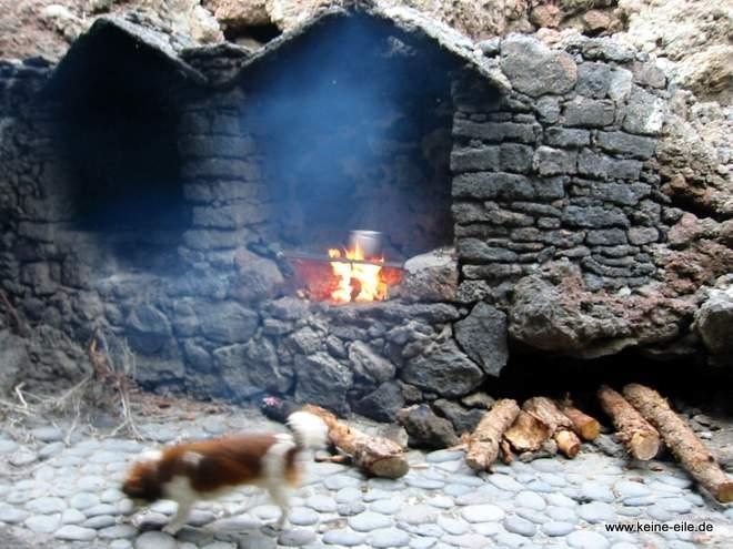 Radreise Kanaren: Grillen auf El Hierro