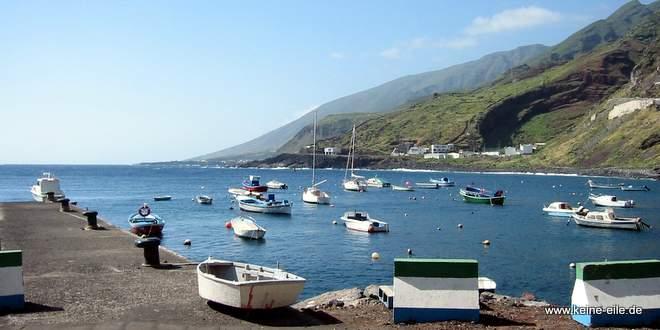 Radreise El Hierro: Der Hafen