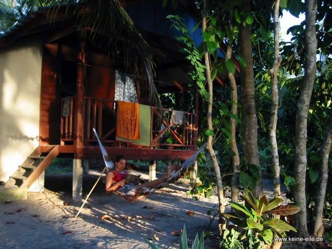 Bungalow auf Ko Phayam, Thailand