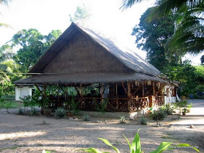 Restaurant auf Ko Phayam