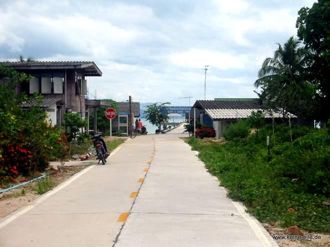 Thailand: Der Hafen von Ko Phayam