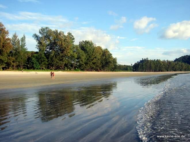 Strand auf Ko Phayam, Thailand