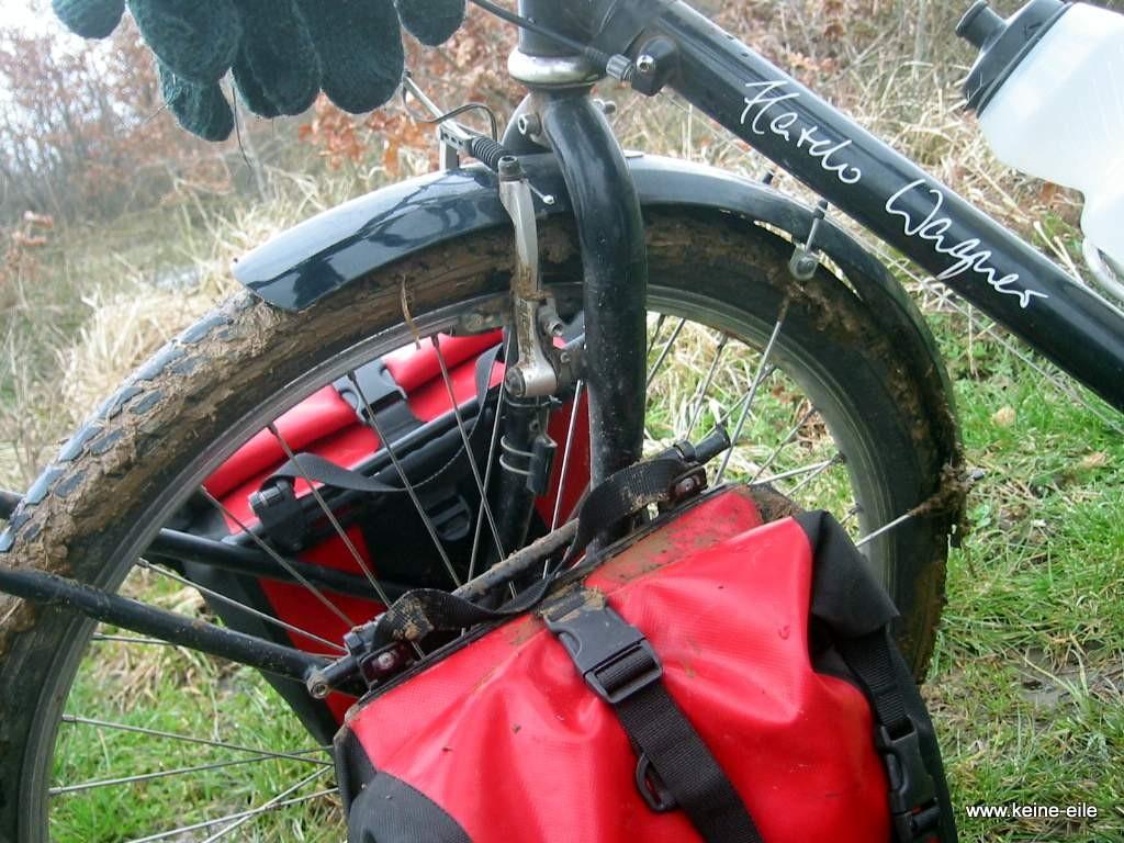 Radreise Türkei: Radfahren im Schlamm