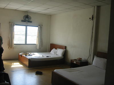 Rajdamnoen Hotel Bangkok - unser Zimmer