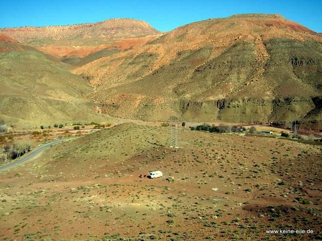 Roadtrip Marokko: Übernachtungsplatz