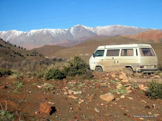 Roadtrip Marokko: vorm Atlas