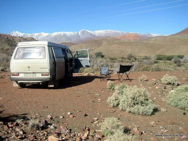 Roadtrip Marokko: Ausblick auf den Atlas