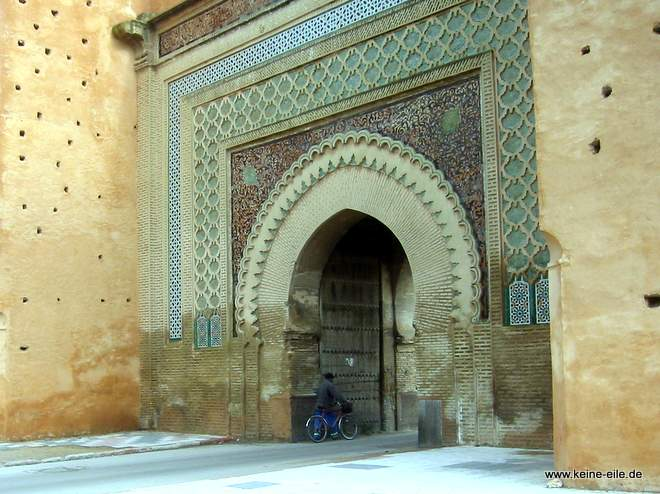 RRoadtrip Marokko: Meknes: Bab Mansour Tor