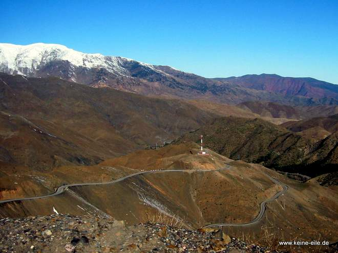 Roadtrip Marokko: Tizi n´Tichka Passstraße