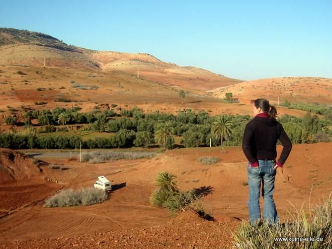 Roadtrip Marokko: Vor dem Tischka Pass