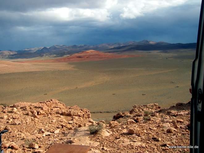 Roadtrip Marokko: Blick aus unserem Wohnzimmer