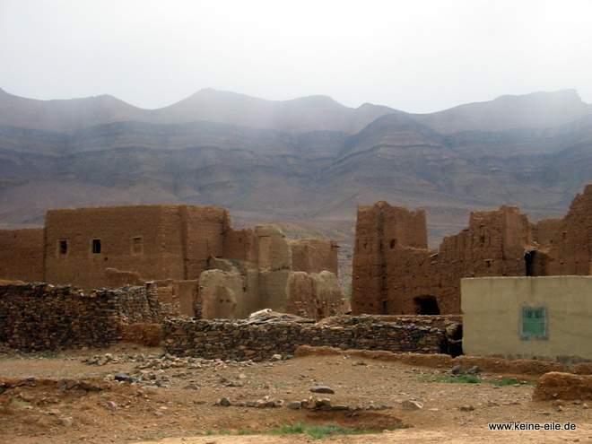 Roadtrip Marokko: verwaschene Kashbar