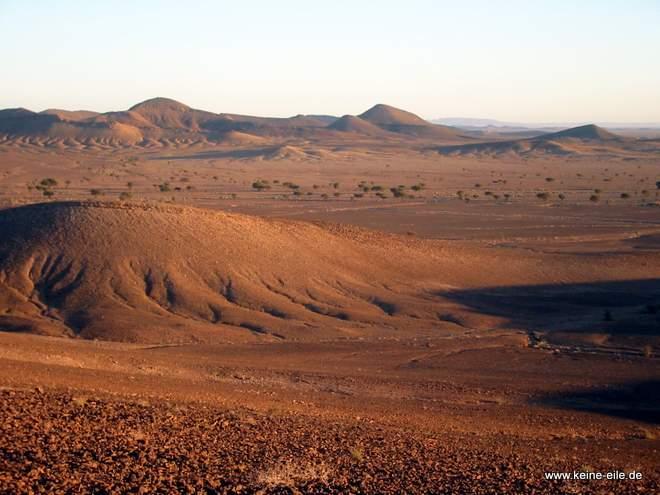 Roadtrip Marokko: Urzeitlicher Meeresboden bei Melcisi