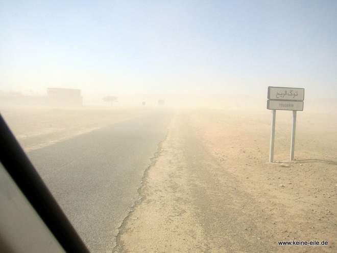 Roadtrip Marokko: Sandsturm
