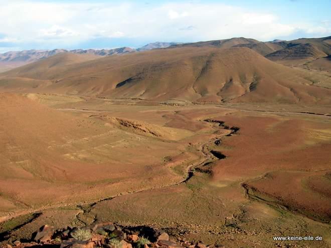 Landschaft bei Agdz, Marokko