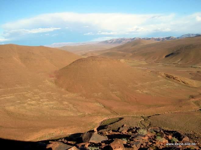 Roadtrip Marokko: Landschaft bei Agdz