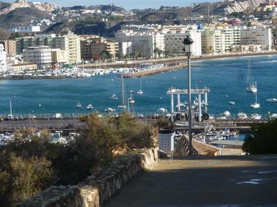 Mit dem Wohnmobil nach Spanien: Der Hafen von Aguilas