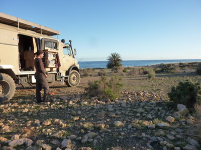 Mit dem Wohnmobil nach Spanien: San Juan