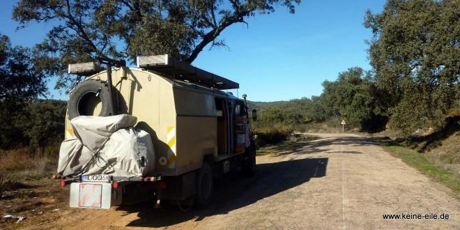 Mit dem Wohnmobil nach Spanien
