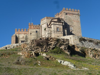 Burg in Aracena