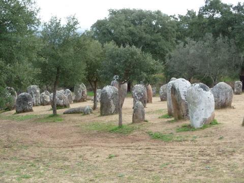 Megalithformation von Almendres