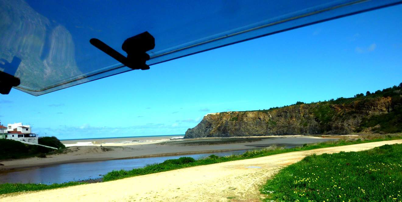 Mit dem Wohnmobil nach Portugal Odeceixe