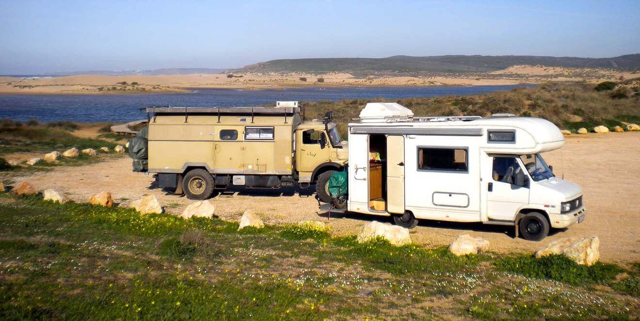 Mit dem Wohnmobil nach Portugal, Algarve: Von Silves nach Odeceixe