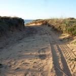 Piste am Praia da Bordeira
