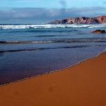 Praia do Amado quasi der Schwesterstrand des Praia da Bordeira, den man auch von Carrapateira aus erreicht.