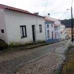 Straße in Praia do Seixe