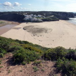 Blick auf Praia Odeceixe