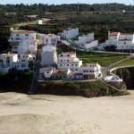 Die Häuser von Praia do Seixe