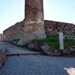 Portugal, Algarve, Aljezur: Turm vom Castelo in Aljezur