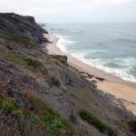 Portugal, Algarve, Praia do Carreagem-Blick auf den Strand