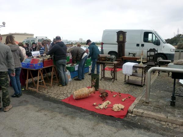 Ferragudo-Flohmarkt
