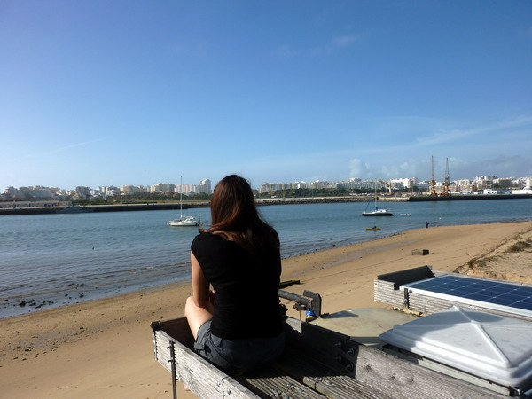 Ausblick auf Ferragudo auf Portimao