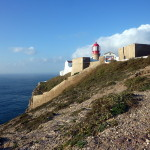 Leuchtturm am Cabo de Sao Vicente, Algarve, Portugal