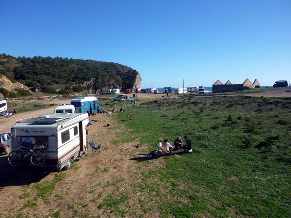 Nachbarn am Boca do Rio, Algarve, Portugal