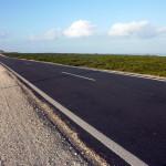Straße zum Ende der Welt, Sagres, Cabo de Sao Vicente, Algarve, Portugal