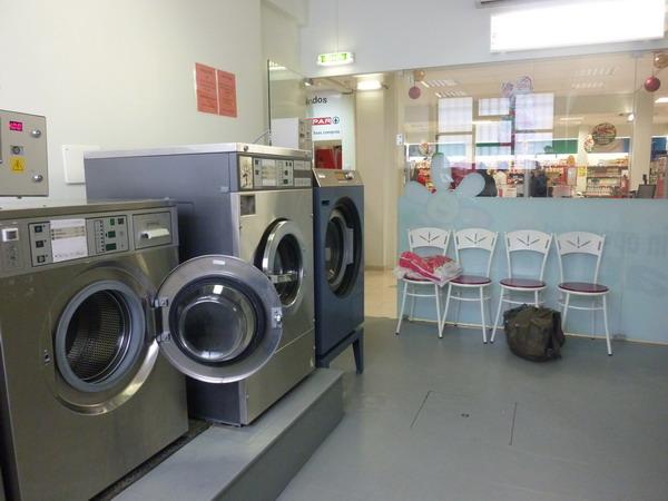 Waschcenter in Lagos, Algarve, Portugal