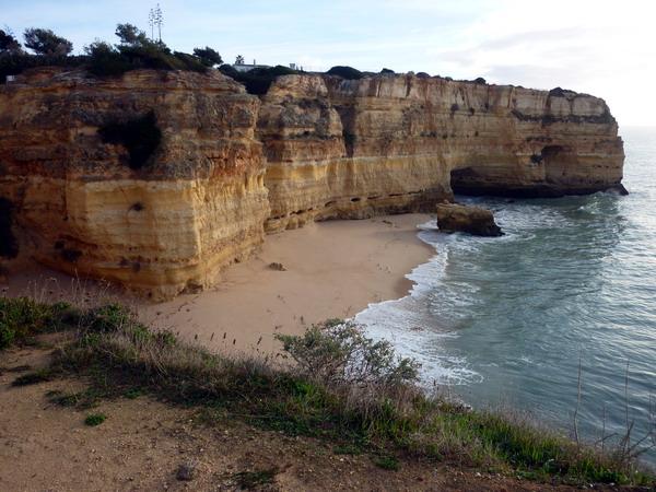Reisebericht Praia da Marinha, Algarve, Portugal: Der Möwenstrand