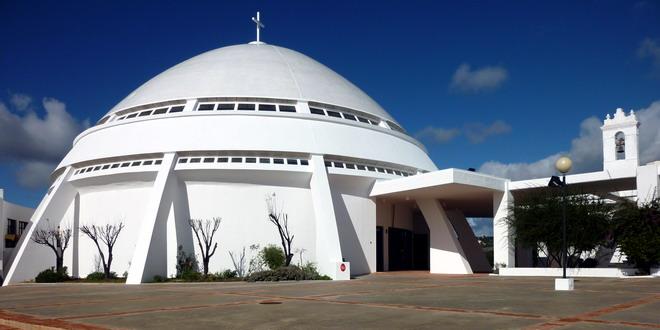 Loulé-die Kuppel der Wallfahrtskirche