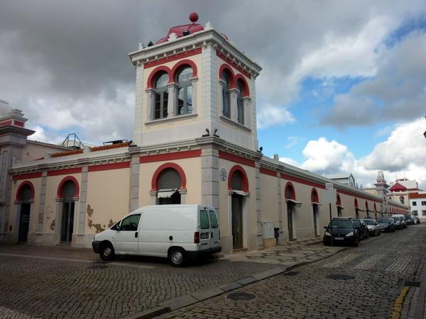 Loulé-die Markthalle von Loulé, Algarve, Portugal