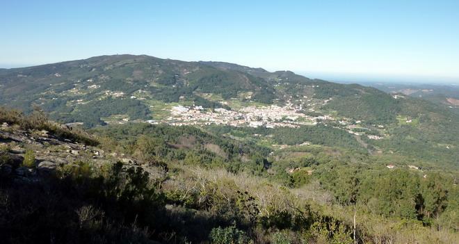 Picota, Algarve-Ausblick auf Monchique und den Berg Fóia