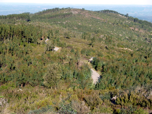 Picota, Algarve-parken auf dem zweithöchsten Gipfel
