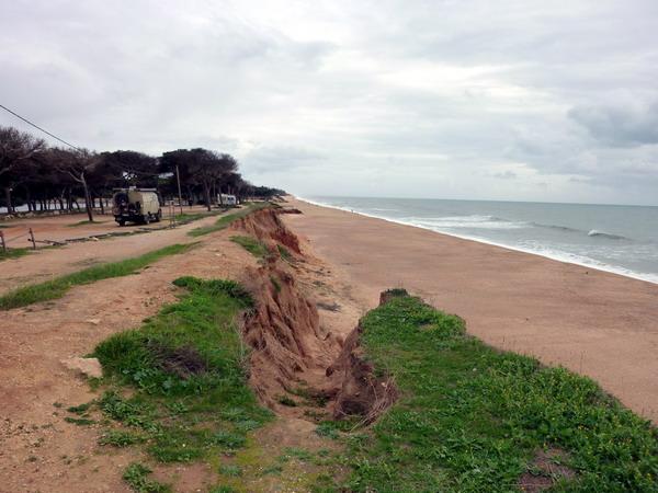 an der Sandkante