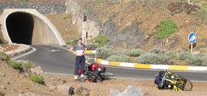 Radreise Kanaren: El Hierro - der Tunnel