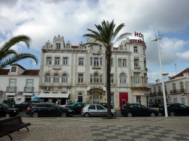 Das Grand Hotel von Vila Real de Santo António, Algarve, Portugal