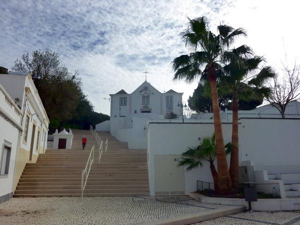 Die Kirche von Castro Marim, Algarve, Portugal